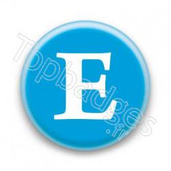 Badge Lettre E