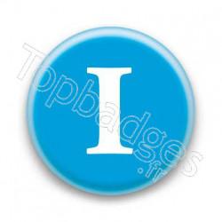 Badge Lettre I