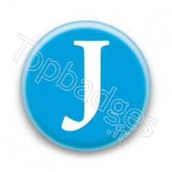 Badge Lettre J