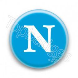 Badge Lettre N