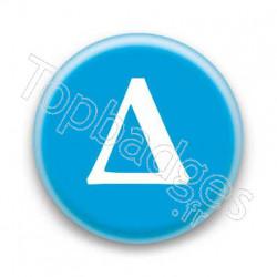 Badge Lettre grecque D