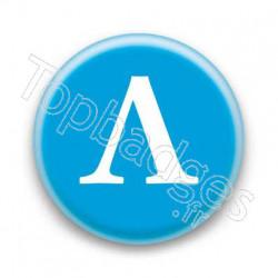 Badge Lettre grecque L
