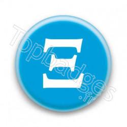 Badge Lettre grecque X