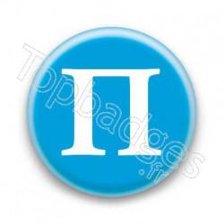 Badge Lettre grecque P