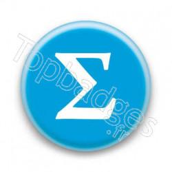 Badge Lettre grecque S