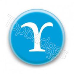 Badge Lettre grecque U