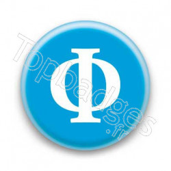 Badge Lettre grecque PH