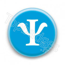 Badge Lettre grecque PS