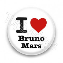 Badge : I love Bruno Mars
