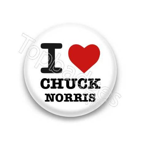 Badge : I love Chuck Norris