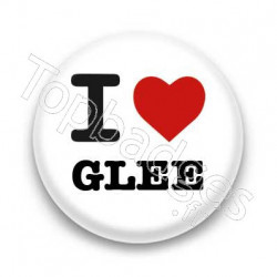 Badge I Love Glee