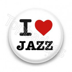 Badge I Love Jazz