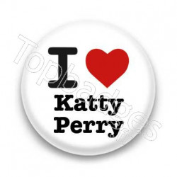 Badge : I love Katty Perry