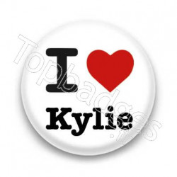 Badge : I love Kylie
