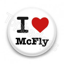 Badge I Love McFly