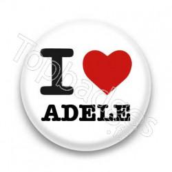 Badge I Love Adèle