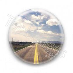 Badge American road