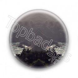 Badge paysage symetrique