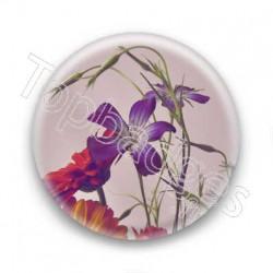 Badge fleur d'intérieur