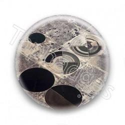 Badge cultures circulaires vue du ciel