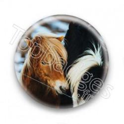 Badge chevaux