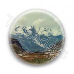 Badge montagnes