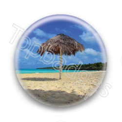 Badge plage