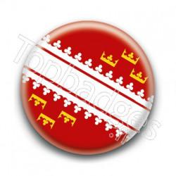 Badge drapeau Alsacien