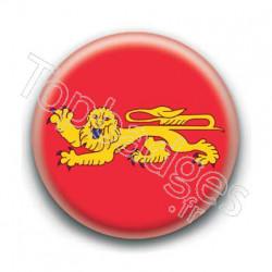 Badge drapeau Aquitaine