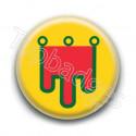 Badge drapeau Auvergne