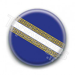 Badge drapeau Champagne-Ardenne