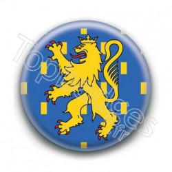 Badge drapeau Franche Comté