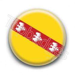 Badge drapeau Lorraine