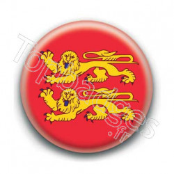 Badge drapeau Normandie