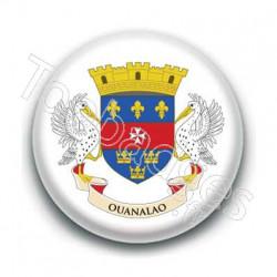 Badge drapeau Saint Barthélémy