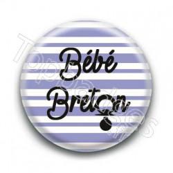Badge bébé breton garçon