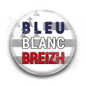 Badge bleu blanc breizh