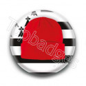 Badge bonnet rouge drapeau breton