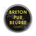 Badge : Breton pur beurre salé