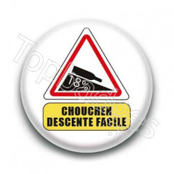 Badge Chouchen descente facile
