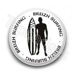 Badge Breizh surfing
