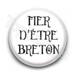 Badge Fier d'être breton