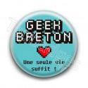 Badge : Geek Breton