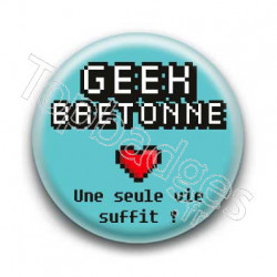 Badge Geek Bretonne