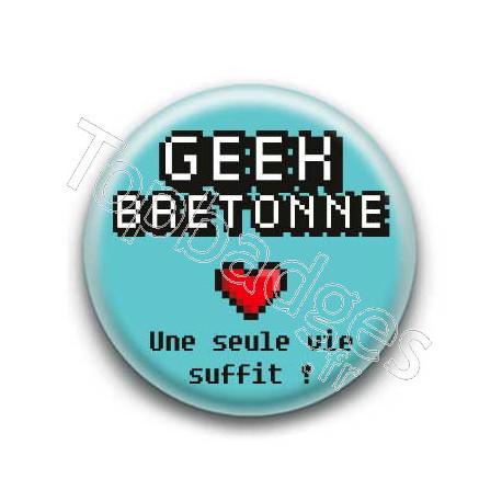 Badge : Geek Bretonne
