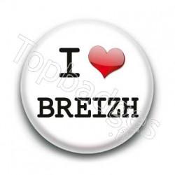 Badge I Love Breizh