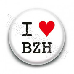 Badge I Love BZH