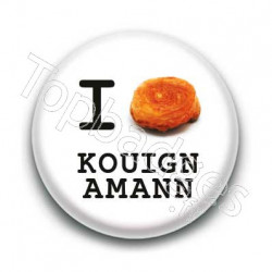 Badge I Love Kouign Amann