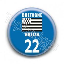 Badge Bretagne 22