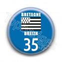 Badge Bretagne 35